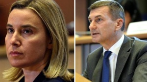 Federica Mogherini, Andrus Asip. PHOTO: © European Union 2014