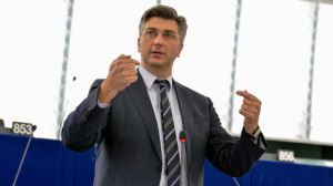 Andrej Plenković. PHOTO: © European Union 2015